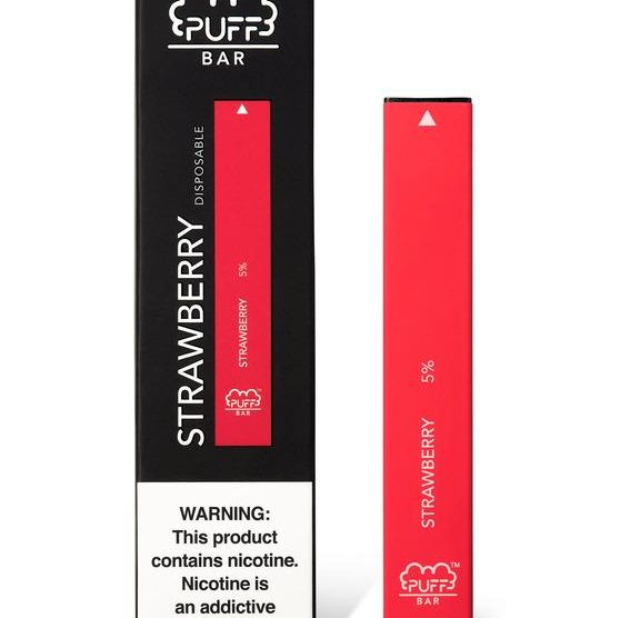 Puff Bar Disposable E-Cigarette Pod Vape by Puff Review