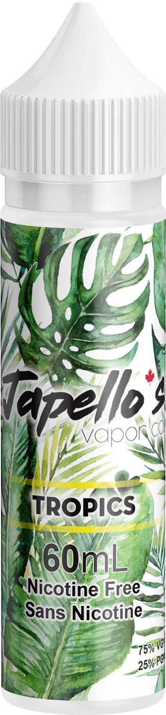 Tropics Ejuice by Japello's Vapor Co. Review