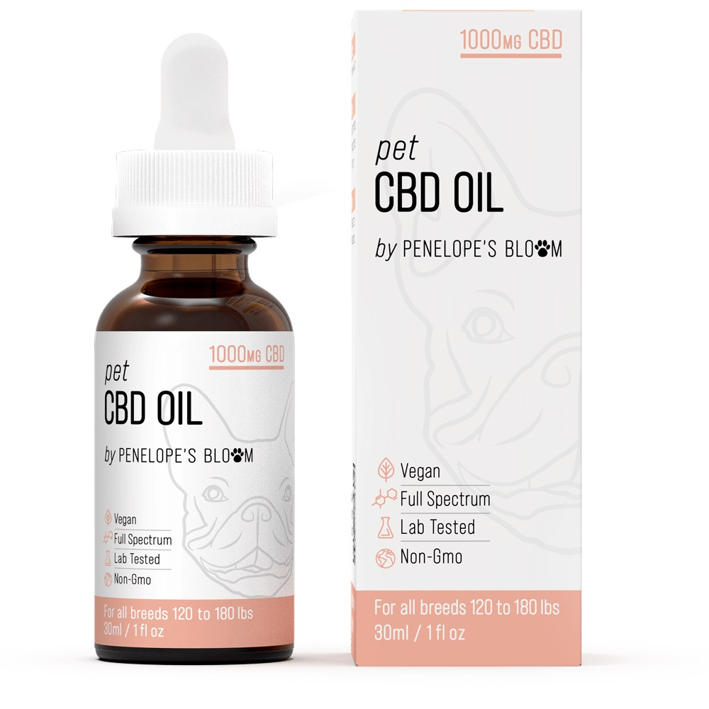 CBD Oil Tincture for Dogs and Cats by Penelope's Bloom Review